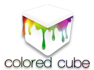 colored cube