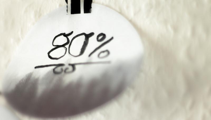 """Artikelbild für den Blogpost """"80% sind alles"""" vom 20.10.2017 auf www.coloredcube.de"""